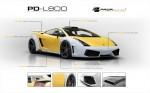 PRIOR-DESIGN PD-L800 Widebody Аэродинамический комплект для LAMBORGHINI GALLARDO