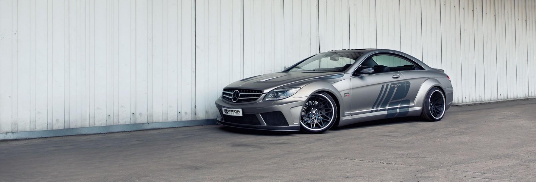PD Black Edition V2 Widebody Аэродинамический комплект для Mercedes CL [W216]