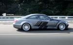 PD Black Edition V2 Widebody Аэродинамический комплект для Mercedes CL [W216FL]