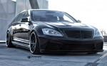 PRIOR-DESIGN PD Black Edition V2 Widebody Аэродинамический комплект для Mercedes S-Class [W221]