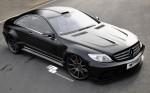 PD Black Edition Widebody Аэродинамический комплект для Mercedes CL [W216]