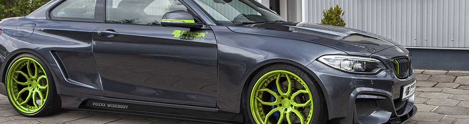 PD2XX Widebody Аэродинамический комплект для BMW 2er Coupe