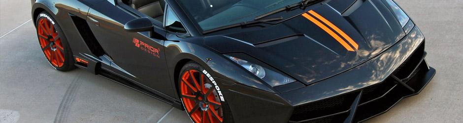 PRIOR-DESIGN EDITION Аэродинамический комплект Lamborghini Gallardo