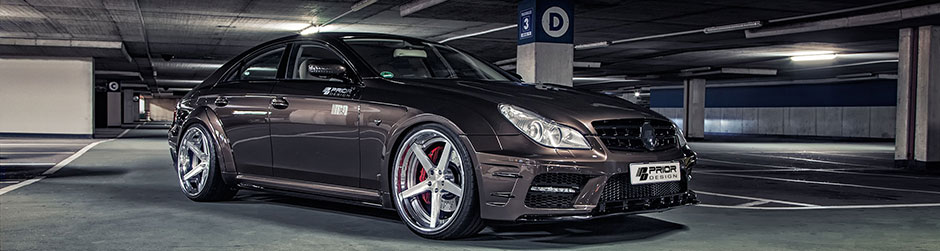 PD Black Edition Widebody Аэродинамический комплект длч Mercedes CLS [W219]