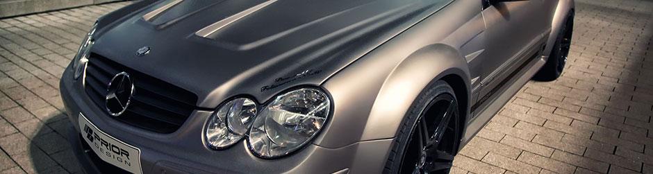 PD Black Edition Widebody Аэродинамический комплект для Mercedes CLK [W209]