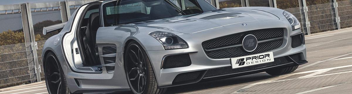 PD BLACK EDITION Аэродинамический комплект для Mercedes SLS