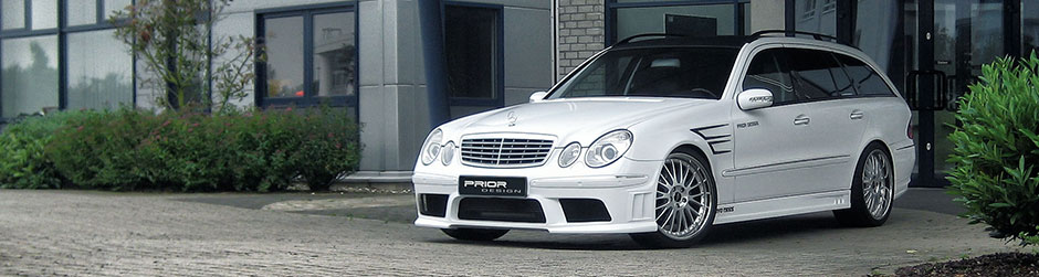 PRIOR-DESIGN PD Аэродинамическая система для Mercedes E-Class [W211]
