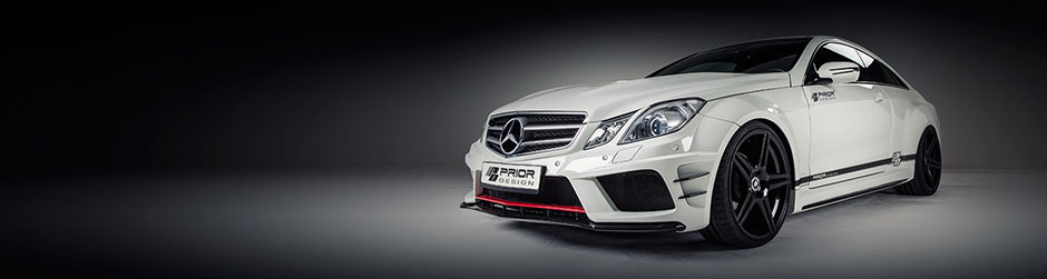 PRIOR-DESIGN PD850 Black Edition Widebody Аэродинамический комплект для Mercedes E-Classe Coupe [C207]