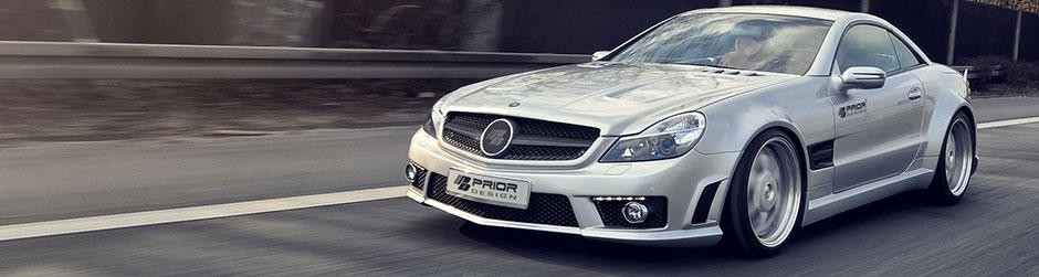 PD-SERIES Widebody Аэродинамический комплект для Mercedes SL [R230FL]