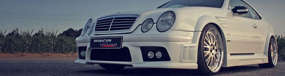 PRIOR-DESIGN Widebody Аэродинамический комплект для Mercedes CLK [W208]
